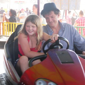 Bumpercars with dad