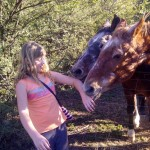 JJ with Horses in Magaliesburg